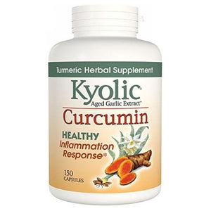 Kyolic Curcumin - Healthy Inflammation 150 Caps by Kyolic (2590269276245)