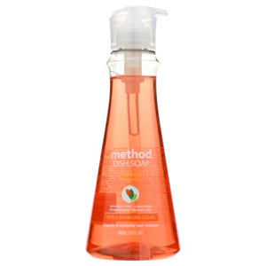 Dish Soap Clementine 18 Oz(case of 6) by Method Products (4753955618901)