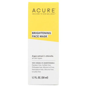 Brightening Face Mask 1.7 Oz by Acure (4753960599637)