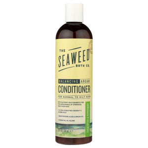 Argan Conditioner Balancing Eucalyptus & Peppermint 12 Oz by Sea Weed Bath Company (4753969807445)