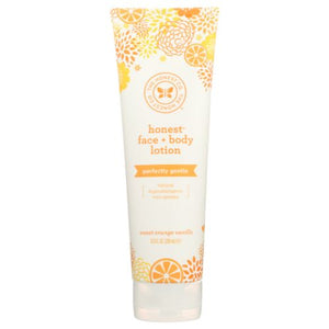 Face and Body Lotion Sweet Orange Vanilla 8.5 Oz by The Honest Company (4753971707989)