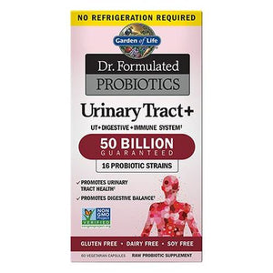 Dr. Formulated Probiotics Urinary Tract Plus 60 Caps by Garden of Life (2614604791893)