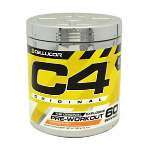 C4 Pre-Workout Explosive Energy Orange Burst 60 Servings by Cellucor (4753978228821)