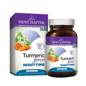 Turmeric Force Nighttime 60 Veg Caps by New Chapter (2629586354261)