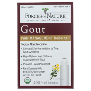 Gout Pain Management 4 ml by Forces of Nature (4753980883029)