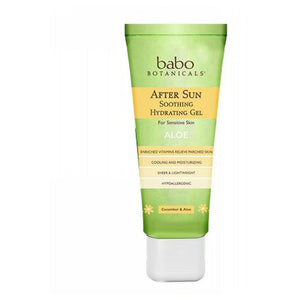 After Sun Soothing Gel 8 Oz by Babo Botanicals (2590326587477)