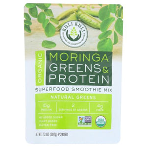 Organic Greens & Protein Superfood Smoothie Mix 7.3 Oz by Kuli Kuli (4753988190293)