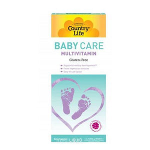 Baby Care Multivitamin 6 Oz by Country Life (4753990942805)