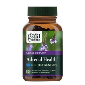 Adrenal Health Nightly Restore 120 Caps by Gaia Herbs (4753991336021)