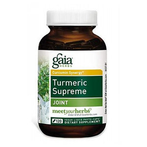 Turmeric Supreme Joint 120 Caps by Gaia Herbs (2590342086741)