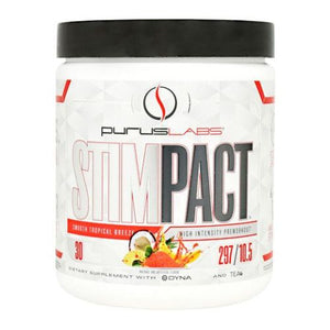 Stimpact Smooth Tropical Breeze 30 Servings by Purus Labs (2614520676437)