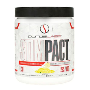 Stimpact Fresh Squeezed Lemonade 30 Servings by Purus Labs (2614520741973)