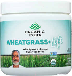 Organic Support Wheat Grass Lift 5.29 Oz by Organic India