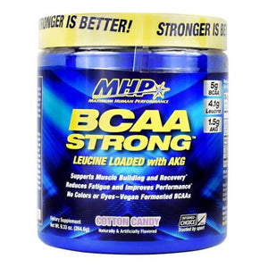 BCAA Strong Cotton Candy 30 Servings by Maximum Human Performance (2614524969045)