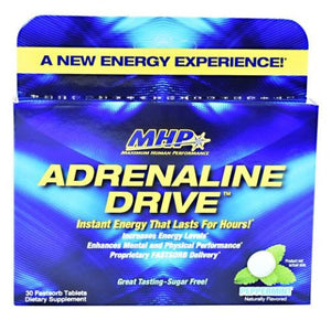Adrenaline Drive Peppermint 30 Tabs by Maximum Human Performance (2614525100117)