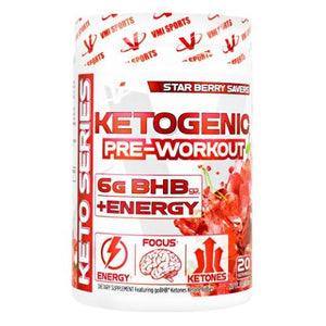 Ketogentic Pre-Workout Star Berry 20 Servings by KetoSports (2636345540693)