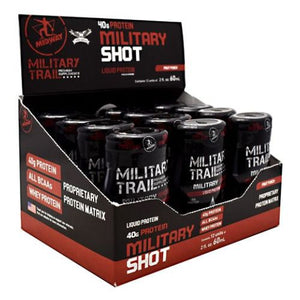 Miliary Shot Fruit Punch 12 Count by Midway Labs (2636345704533)