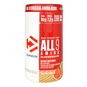 All 9 Amino Juicy Watermelon 30 Servings by Dymatize (4754012897365)