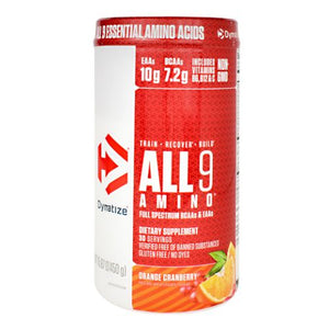 All 9 Amino Orange Cranberry 30 Servings by Dymatize (4754013028437)