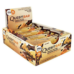 Quest Protein Bar Peanut Butter Brownie Smash 12 Count by Quest Nutrition (4754016501845)