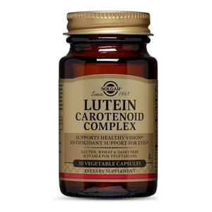 Lutein Carotenoid Complex Vegetable Capsules 30 V Caps by Solgar (2588794585173)