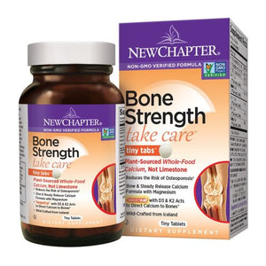 Bone Strength Take Care Tiny Tabs 120 tabs by New Chapter (2587949989973)