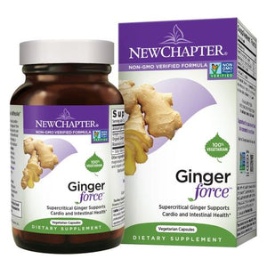 Ginger Force 30 Liquid Veg Caps by New Chapter (2629580554325)