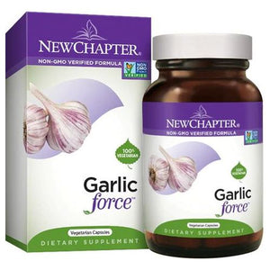 Garlic Force 30 Liquid Veg Caps by New Chapter