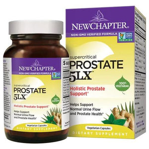 Supercritical Prostate 5LX 180 Veg Capsules by New Chapter