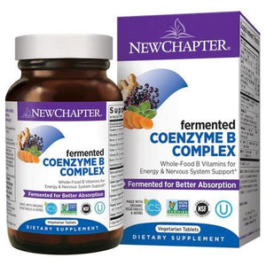 Coenzyme B Food Complex 60 Count by New Chapter (2590311350357)