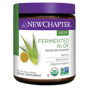 Fermented Aloe Booster Powder 54 Grams by New Chapter (2590319247445)