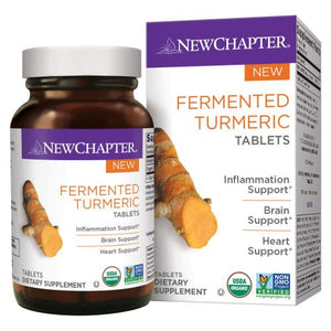 Fermented Turmeric 48 Tabs by New Chapter