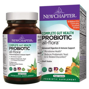 Probiotic All-Flora 30 Veg Caps by New Chapter (2614528704597)