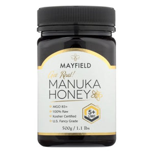 Manuka Honey UMF 5+ 17.6 Oz by Pacific Resources International (4754085642325)
