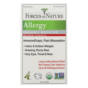 Allergy Maximum Strength 10 ml by Forces of Nature (4754245288021)