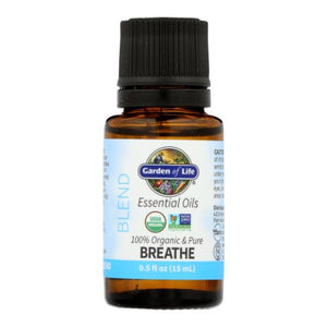 Essential Oil Blend Breath 0.5 Oz by Garden of Life (4754251546709)
