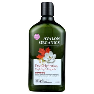 Deep Hydration Maple Sap & Magnolia Shampoo 11 Oz by Avalon Organics (4754252398677)