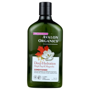 Deep Hydration Maple Sap & Magnolia Conditioner 11 Oz by Avalon Organics (4754252431445)