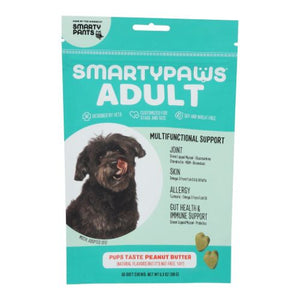 Five-In One Wellness  Adult Large Breed Peanut Butter 60 Soft Chews by SmartyPants (4754252595285)