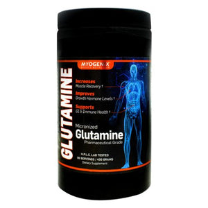 Glutamine 400 grams by Myogenix (4754270978133)