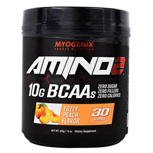 Amino 2 Fuzzy Peach 15 Oz by Myogenix (4754271043669)