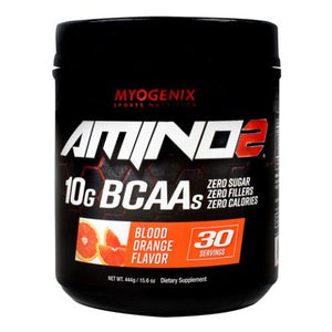 Amino 2 Blood Orange 15.6 Oz by Myogenix (4754271141973)