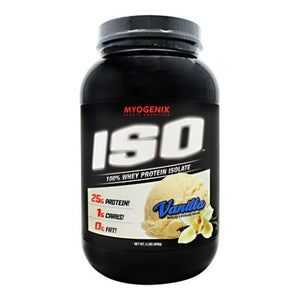 Iso Vanilla 2 lbs by Myogenix (4754271338581)