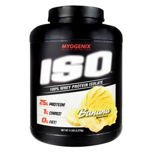 Iso Banana 5 lbs by Myogenix (4754271436885)