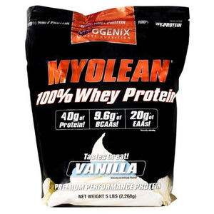 Myolean Vanilla 5 lbs by Myogenix (4754271699029)