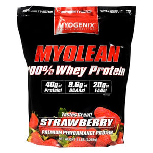 Myolean Strawberry 5 lbs by Myogenix (4754271731797)