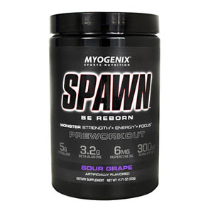 Spawn Sour Grape 11.71 Oz by Myogenix (4754271797333)