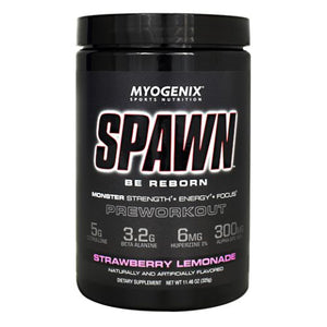 Spawn Strawberry Lemonade 11.46 Oz by Myogenix (4754271830101)