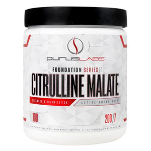 Citrulline Malate Unflavored 100 Each by Purus Labs (4754272747605)