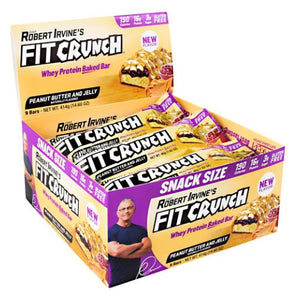 Fit Crunch Bar Peanut Butter & Jelly 9 Bars by Fit Crunch Bars (4754273632341)